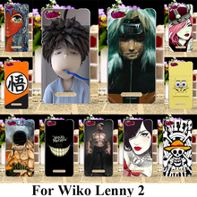 AKABEILA Soft Plastic Mobile Phone Cases For Wiko Lenny 2 II Lenny2 Covers Cool Cartoon TVShell(China)