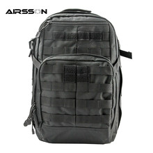 Outdoor Tactical Backpack Climbing Hiking Molle Double Shoulderbag Men High Density Durable Backpack Mountaineering Storage Pack