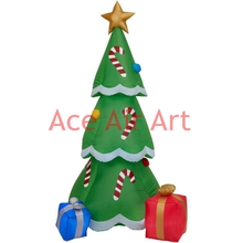 inflatable yard decoration Christmas inflatable Christmas tree with gifts