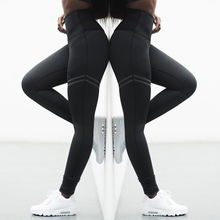 Buy Activewear High Waist Fitness Leggings Women Pants Fashion Patchwork Workout Legging Stretch Slim Sportswear Jeggings for $6.42 in AliExpress store