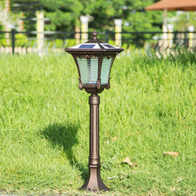 Waterproof  Solar lawn light outdoor grass lamps villa home garden light 80cm Tall