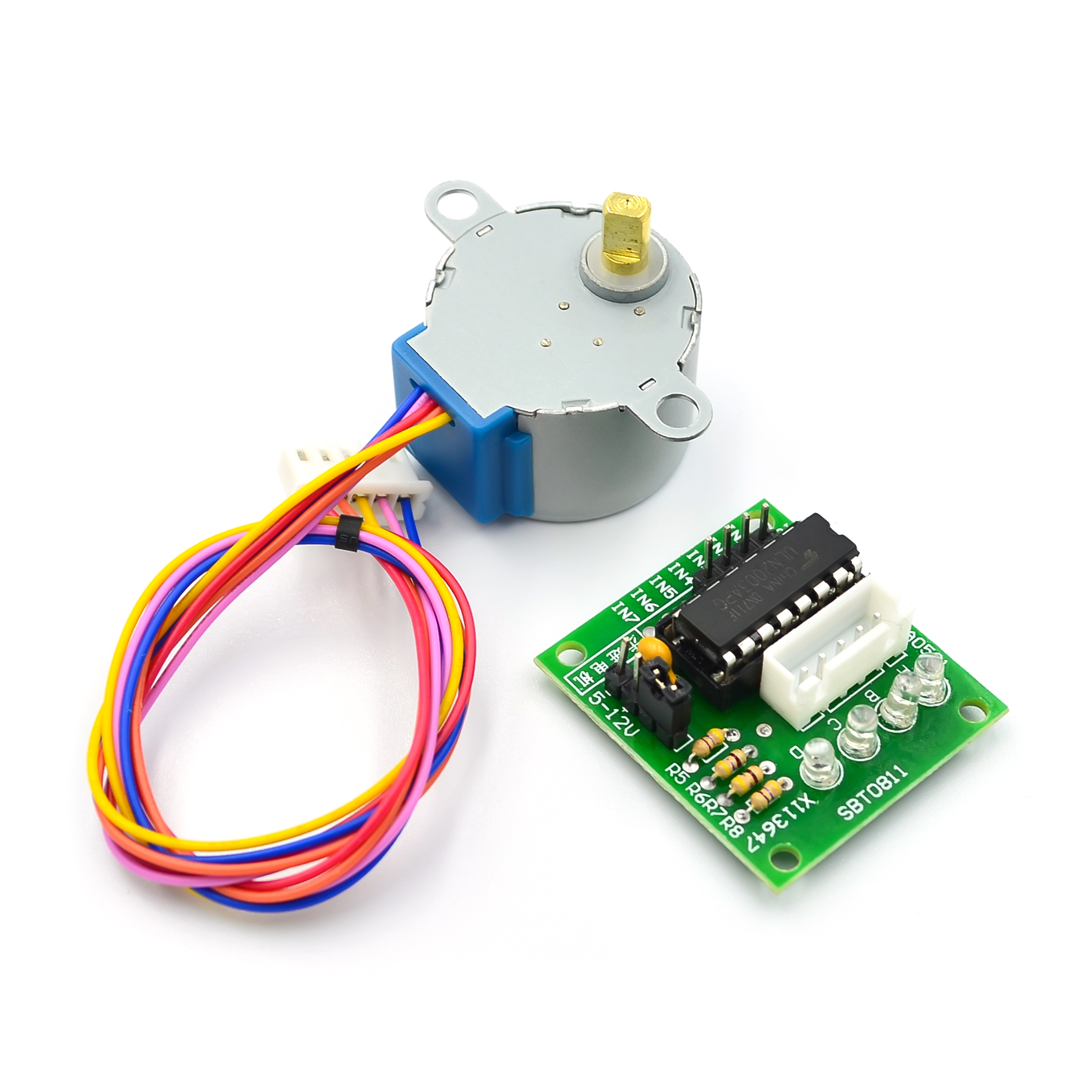 5V Stepper Motor 28BYJ-48 With Drive Test Module Board ULN2003 for Arduino