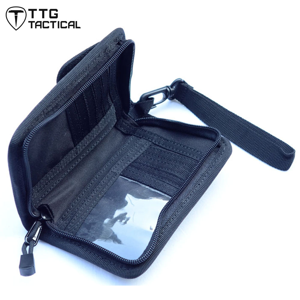 TTGTACTICAL Men EDC Military Wallet Pack Army Travel Card Holder Bag Cell Phone Pouch Portable Multi-Pockets Handbag<br><br>Aliexpress