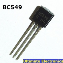 50pcs BC549 TO-92 NPN Transistor 0.1A 30V Low Noise Amplifier(China)