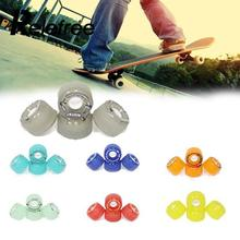 78A Hardness Skateboard PU Wheels Pro Scooter Street Brush Cruise Ruedas 60MM 4 Colors - Online Gym Store store