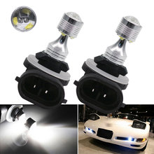 H27 led bulb car driving leds High Power Quality White 881 30W LED Bulb Fog Daytime Driving Light External Lamp 1X