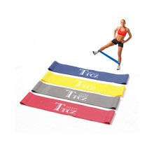 Resistance Bands set 4 Level Fitness workout elastic training band for Yoga Pilates band crossfit bodybuilding exercise