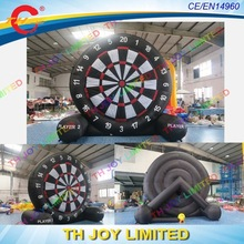 5m giant inflatable Soccer shooting dart/ football Dart Board games/ inflatable golf dart board/ inflatable football target dart(China)