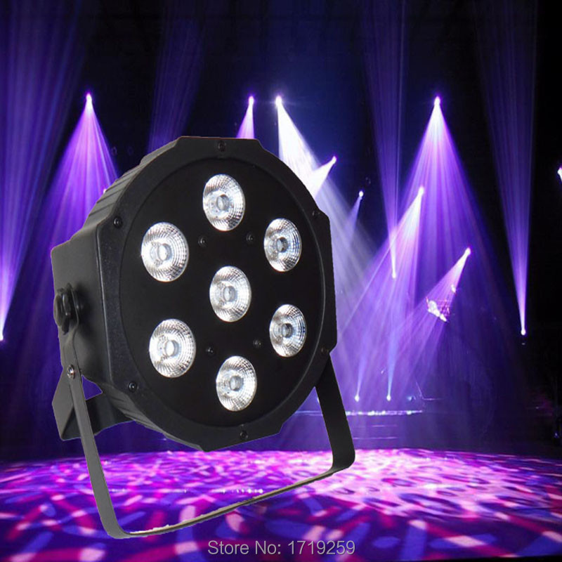 10pcs/lot Fast Shipping  LED SlimPar 7x9W RGB 3IN1 LED DJ Wash Light Stage Uplighting No Noise Free Shiping<br><br>Aliexpress