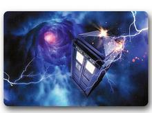 Custom Machine-Washable Doctor Who Police Box Door Mat Indoor/Outdoor Decor 40x60cm Rug Doormat Room Decoration