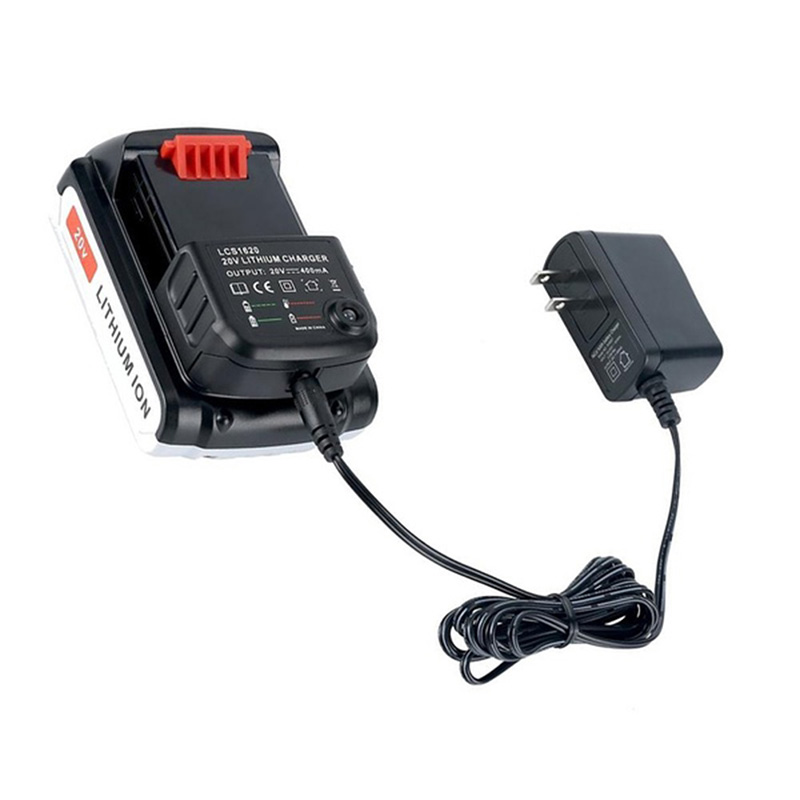 20V Lithium Battery LCS1620 Charger For BLACK+PORTER-CABLE/STANLEY LBXR20 FD