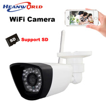 Wireless IP camera wifi with micro SD card slot CCTV Webcam Network Surveillance Security Camera 30LED supprot smartphone view