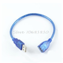 1Pc Short USB 2.0 A Female To A Male Extension Cable Cord #R179T#Drop Shipping