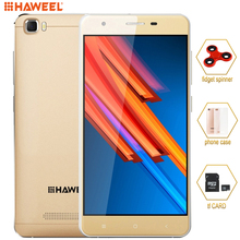 Unlocked 4G Original Smartphone HAWEEL H1 PRO 1GB/8GB MTK6735 Quad Core up to 1.2Ghz Mobile Phone 5.0'' 2300mAh Cellphone LTE(China)