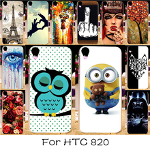 Plastic Soft TPU Silicon Phone Case For HTC Desire 820 D820U D820 D820T 820G 820G+ Dual Sim 820S D820S D820Q 5.5 inch Cover Skin