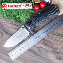 58-60HRC Ganzo G720 Firebird F720 G10 Handle Folding knife Survival Camping tool Hunting Pocket Knife tactical edc outdoor tool
