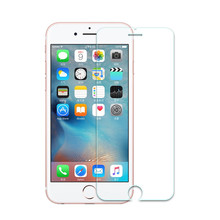 MLLSE Tempered glass For iPhone5 5S 5C 4S 6 7 6S Plus HD Ultra-thin screen protector guard film front glass film(China)