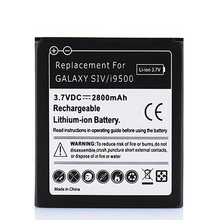 For Galaxy i9500 Mobile Phone Replacement Backup Battery 2800mah For Samsung Galaxy SIV S4 i9500 Phone Li-lon Battery Batteria