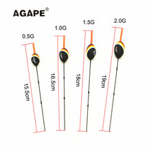 2017 NEW Agape Balsa Wood Pole Float Fishing Bobber 0.5G 1.0G 1.5G 2.0G Buoyancy 201131 Can Change Chemical Light at Top