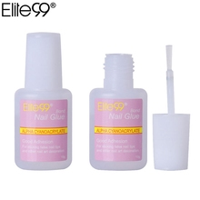 Elite99 10g Strong Glue Manicure Kit False Fake Tip Acrylic Nail Art Decoration Manicure Tools Adhesive For DIY(China)