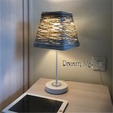 Nordic simple modern literary bedside table lamp creative fashion warm Postage free(China)
