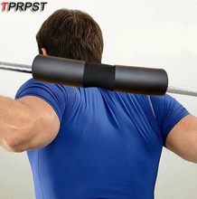 TPRPST Black Barbell Support Pad Squat Weight Lifting Shoulder Protection Weightlifting Pull Up Gripper PA11771845(China)