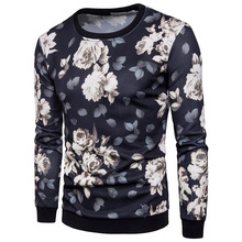 ief.G.S Men 3D Printing Hoody In The Autumn of 2017 New Men's Fashion Floral Popular In Europe and The United States Sweatshirts(China)
