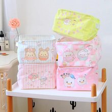 Cute Cartoon Figures Tsum Tsum Little Twin Stars Big Desk Storage Box Holder Jewelry Cosmetic Stationery Doll 20cm(China)