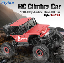 Buy Flytec 699 1:18 2.4G 4CH Alloy RC Car Climber 4WD Off-road Drift Car Gift Kids for $41.99 in AliExpress store