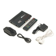In stock ! Digital Computer TV Programs Tuner Receiver Dongle Monitor Black LCD TV Box EU Plug