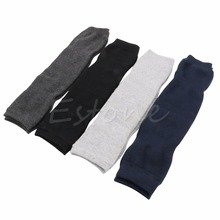 New Women Men Warm Cashmere Wool Knee Warmers Leg Thigh High Socks Pad