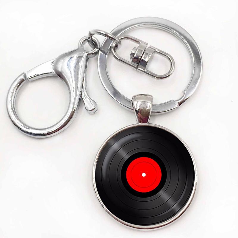 10silver keychain.