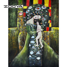 New 3d Diy Diamond Painting Abstract Oil Mother Child Handicraft Canvas Decoration Inlay Mosaic Embroidery Rhinestones JT77