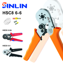 HSC8 6-6 0.25-6mm 23-10AWG MINI TYPE SELF ADJUSTABLE CRIMPER PLIER terminals crimping tools tube terminal crimp tool(China)