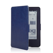 1Pcs Magnet Inside Leather Cover Case for Amazon New Kindle 2014 (Kindle Touch 7 Generation) + Screen Protector + Stylus
