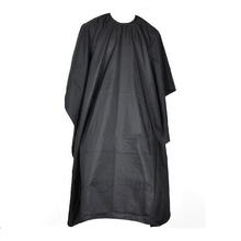 Hair Cutting Hairdressing Cloth Barbers Hairdresser Large Salon Adult Waterproof Cape Gown Wrap Black Hairdresser Cape Gown Wrap(China)