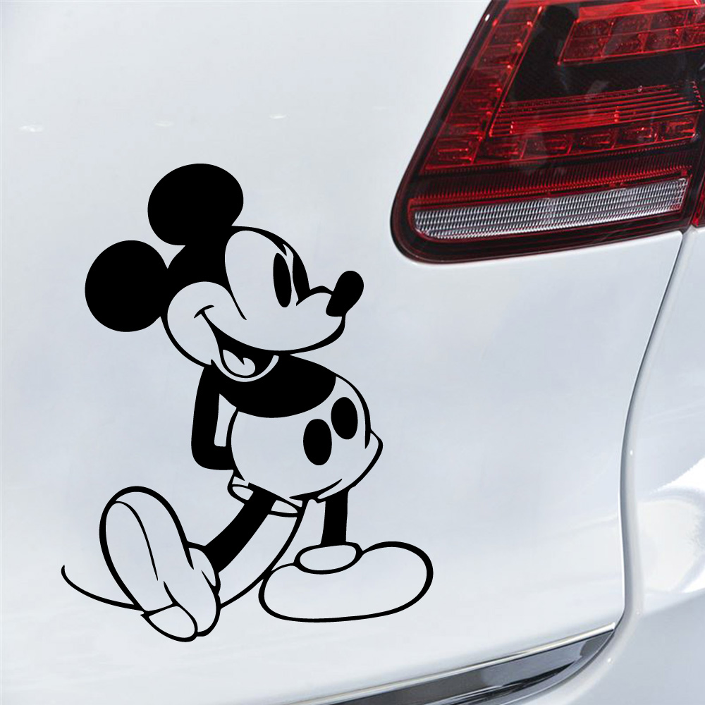 New Walt Disney Mickey Mouse Car Truck Vinyl Decal Sticker Made in USA