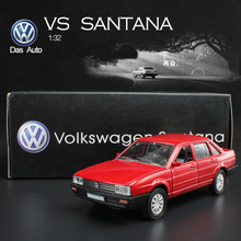 1:32 alloy eternal classic VW Santana car model with Pull back to children's car toys Original Box