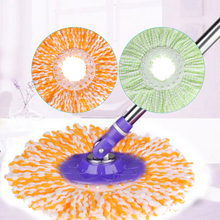360 Degree Rotating Mops Head Microfiber Cloth Replacement Mop Head Super-absorbent Home Cleaning Tools