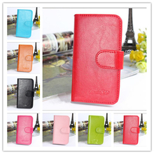 New Fashion Holster Flip Leather Wallet Stand Cell Phone Leather Skin Back Cover Case For Samsung Galaxy Core Advance GT-I8580