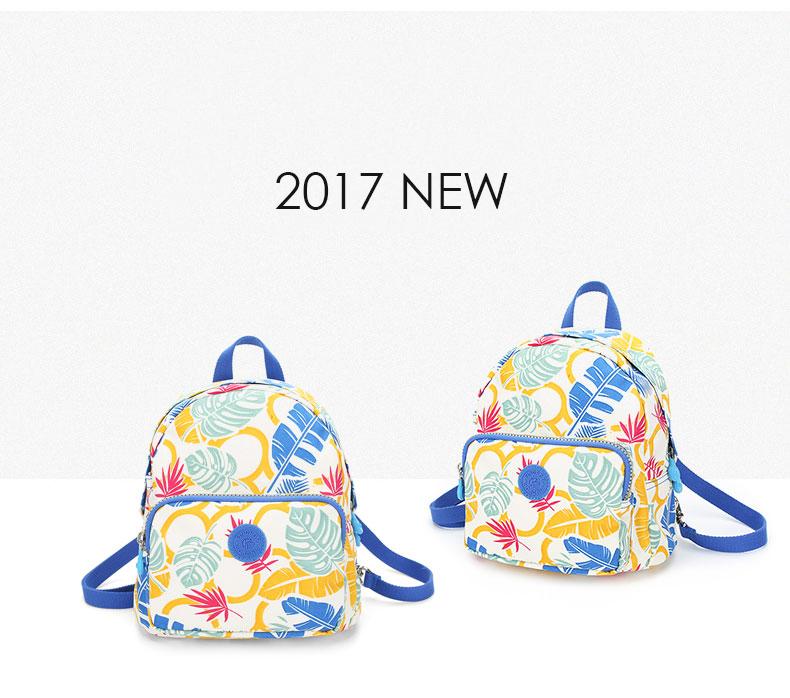Findpop Mode Casual Sac À Dos Femmes 2018 Nouveau Étanche Mini Sac À Dos Pour Femmes Toile Floral Imprimé Petit Sac À Dos Pour Filles 6