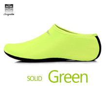 2017 New Men and Women Water Shoes Nylon + Neoprene Mesh Aqua Socks Yoga Exercise Pool Beach Dance Swim Slip Surf(China)