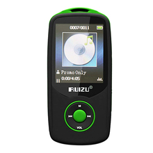 RUIZU X06 TFT Bluetooth Music MP3 Player Recording 4GB 1.8 Screen FM Radio BA green(China)