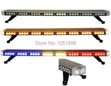 United Safe free shipping low profile GEN III 1 Watt super bright LED Warning Lightbar(amber/blue/red/white)ESL3032