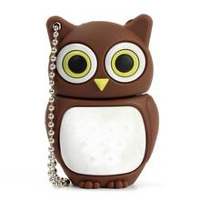 Cartoon Owl USB 2.0 Flash Enough Memory Stick Storage Thumb U Disk 32GB /16GB/8GB/4GB/2GB/1GB Dropship July08#2(China)