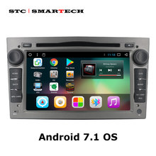 Android 7,1 2Din автомобильный DVD gps навигация Авторадио для Opel Astra H G J Antara VECTRA ZAFIRA Vauxhall с CAN-BUS wifi OBD DVR(China)