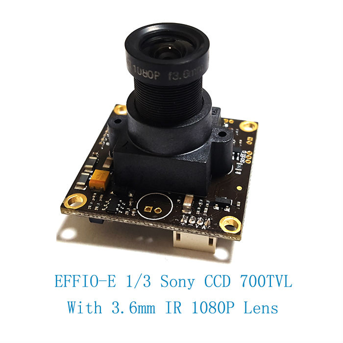 Low illumination 1/3 Sony CCD 700TVL  with 3.6mm HD lens and audio function and OSD function<br>