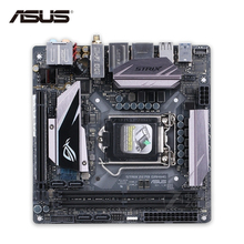Original New Asus ROG STRIX Z270I Gaming Desktop Motherboard Z270 Socket LGA 1151 i7 i5 i3 DDR4 64G SATA3 USB3.1 Mini ITX