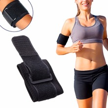 Sports top Fitness Black Adjustable Tennis Sport and Fitness Elbow Support Strap Pad Neoprene Sport Golf Pain Brace Pads(China)