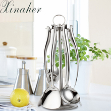 XINAHER Stainless Steel High Quality Kitchen Ware Cook Tool Food Grade Nice Cooking Utensil set(China)